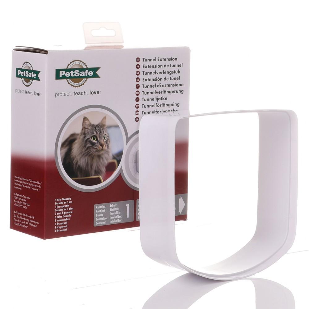 Petsafe Microchip & 4 Way Cat Flap Tunnel Extension - White