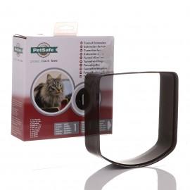Petsafe Microchip & 4 Way Cat Flap Tunnel Extension - Brown