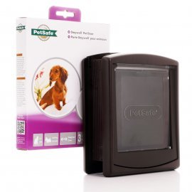 Staywell 730T - Brown - Small Cat Or Dog Door And Tunnel