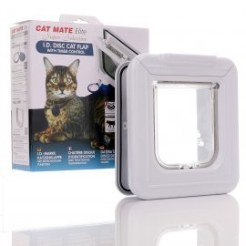 Cat Mate Elite Super Selective Cat Flap - White - 305w