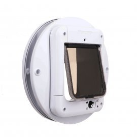 Cat Mate Microchip 360 cat Flap and Adapter For Glass
