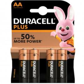 DURACELL Plus AA MN1500 LR6 Batteries 1.5V ALKALINE