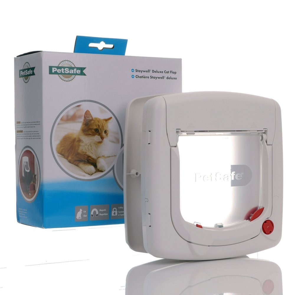 Staywell Magnetic Cat Flap 400 4 Way Locking  by PetSafe