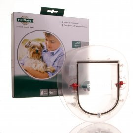 Cat Flap For Glass Patio Doors Slimline Profile Staywell 270