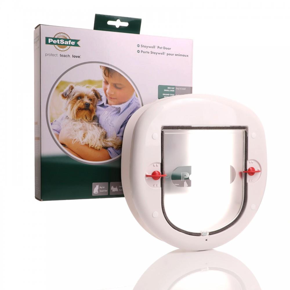 Cat Flap For Glass Patio Door Slimline Profile Staywell 280