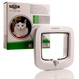 Petsafe 4 Way Locking Cat Flap - White