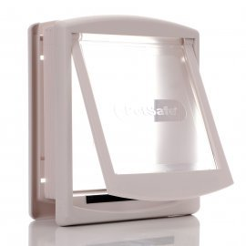 Staywell 715T - White - Small Cat Or Dog Door and Tunnel