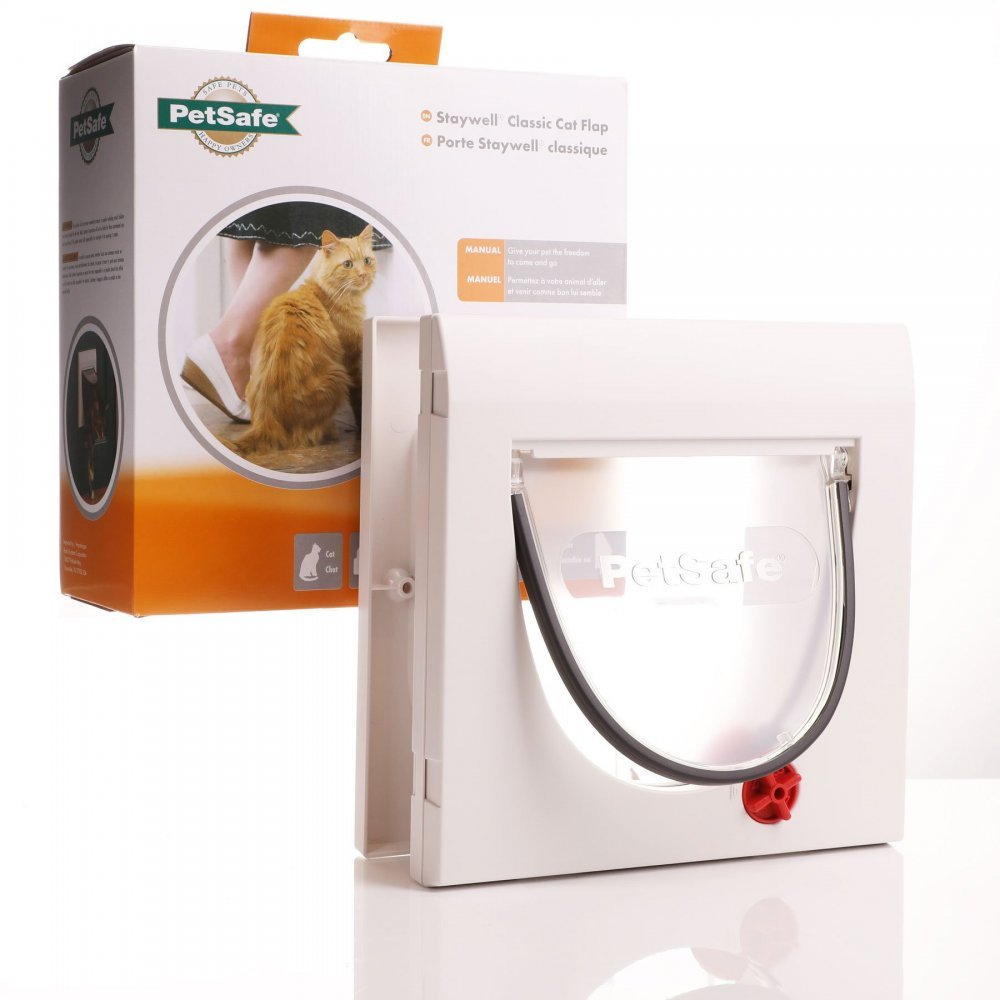 Petsafe Staywell 917 - 4 Way Locking Cat Flap With Tunnel