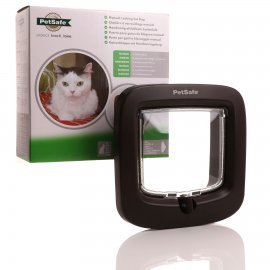 Petsafe 4 Way Locking Cat Flap - Brown Staywell deluxe 320 new version