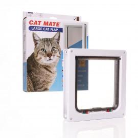 Cat Mate 221 4 Way White Locking Large