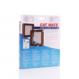 Cat Mate 309 Brown 4 Way Locking