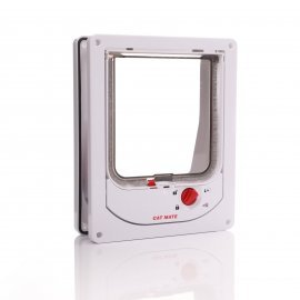 Cat Mate 254 - Electromagnetic Cat Flap for wood