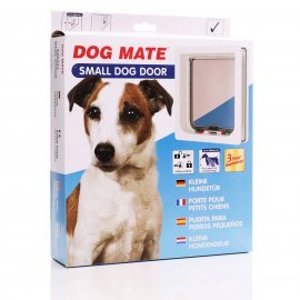 Dog Mate 221 Lockable Dog Door - White