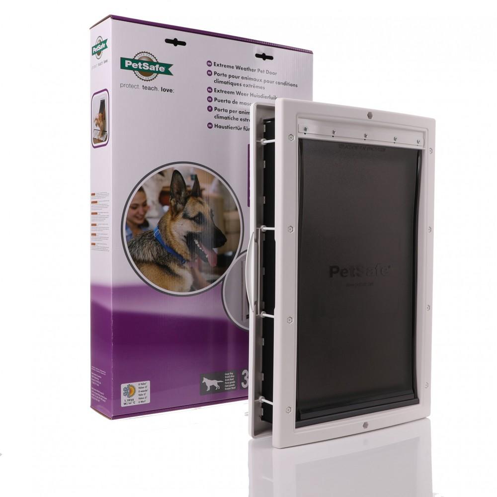 PetSafe Extreme Weather Energy Efficient, White Large