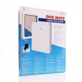Dog Mate 216 Large Dog Door - White