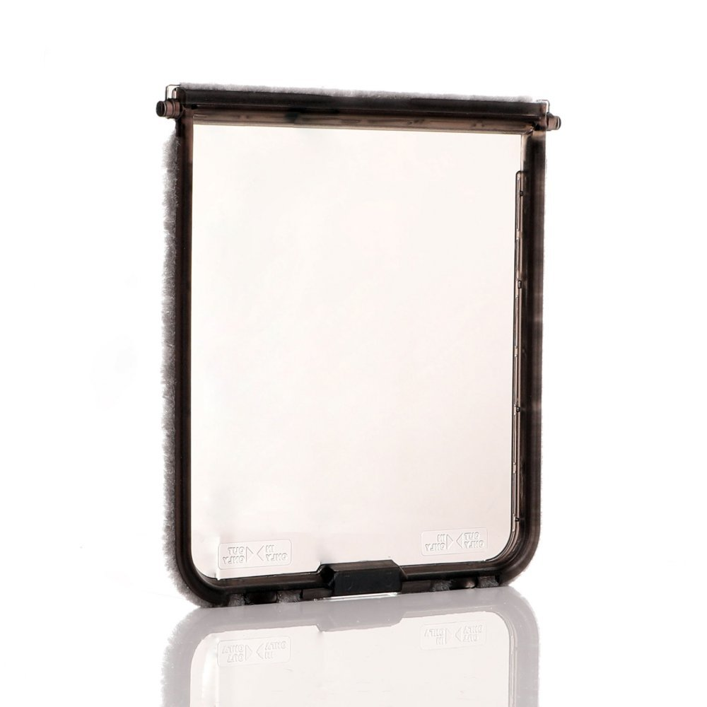 Cat Mate Dog Mate 221/ 357 Spare Flap - Replacement transparent flap smoked