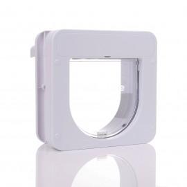 PetPorte Microchip Smart Cat Flap - White