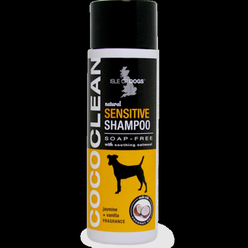 CoCo Clean Dog Sensitive Dog Shampoo (Soap Free Sensitive) Jasmine and Vanilla -Isle Of Dogs