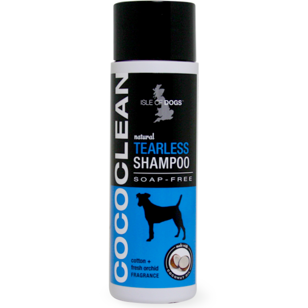 CoCo Clean Sensitive Dog Shampoo (Soap Free) Tearless Cotton and Fresh Orchid - Isle Of Dogs