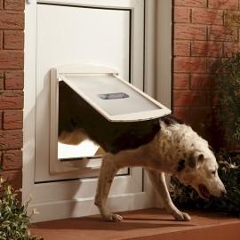 Staywell 760 - Large Dog Flap White - by Petsafe