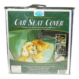 Dog Car Seat Cover - Green