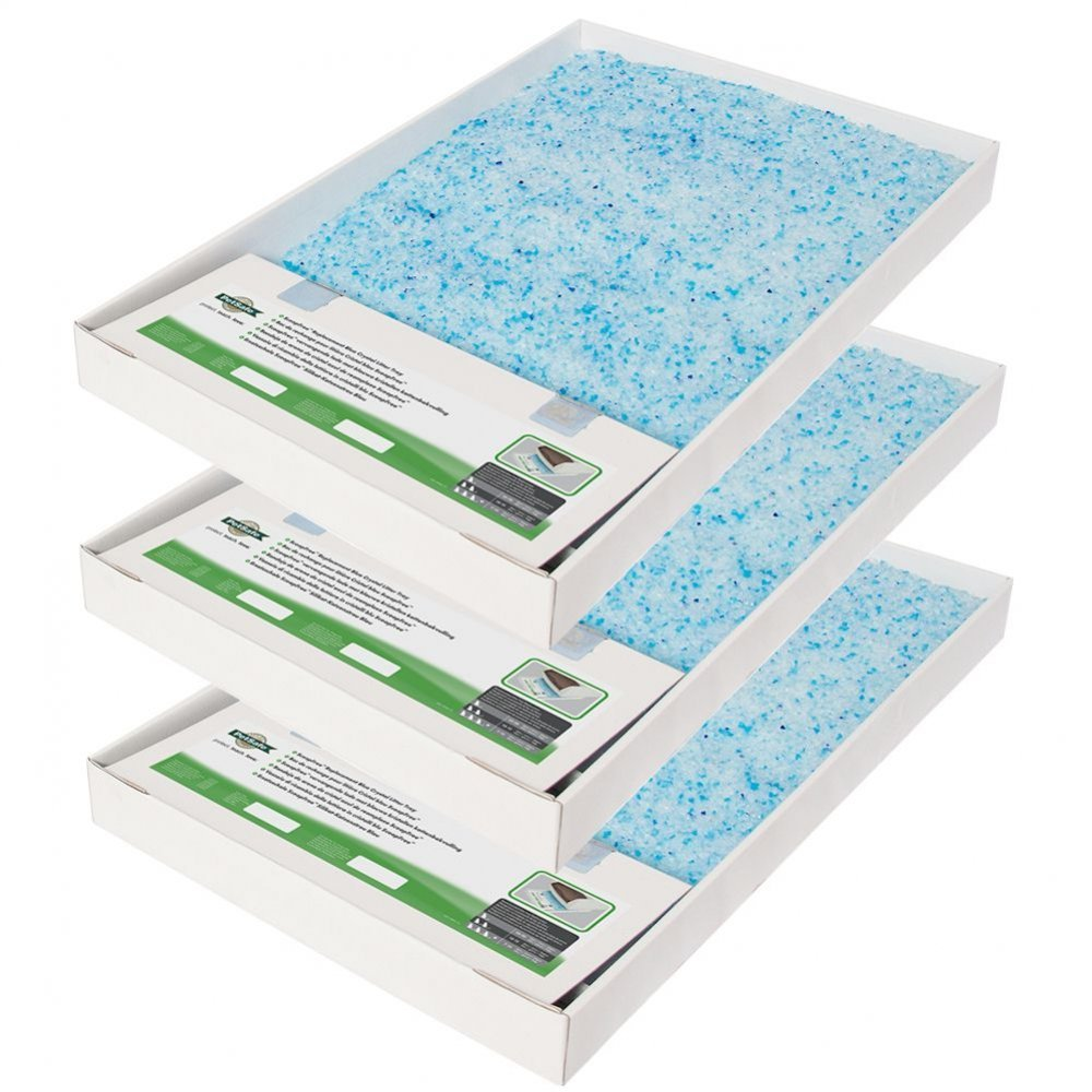ScoopFree Replacement Litter Tray Blue Crystal - 3 pack