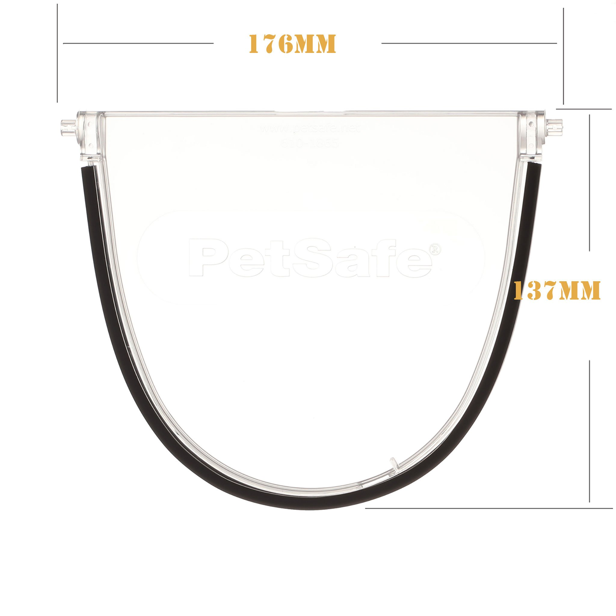 900 series flap clear with outer magnet