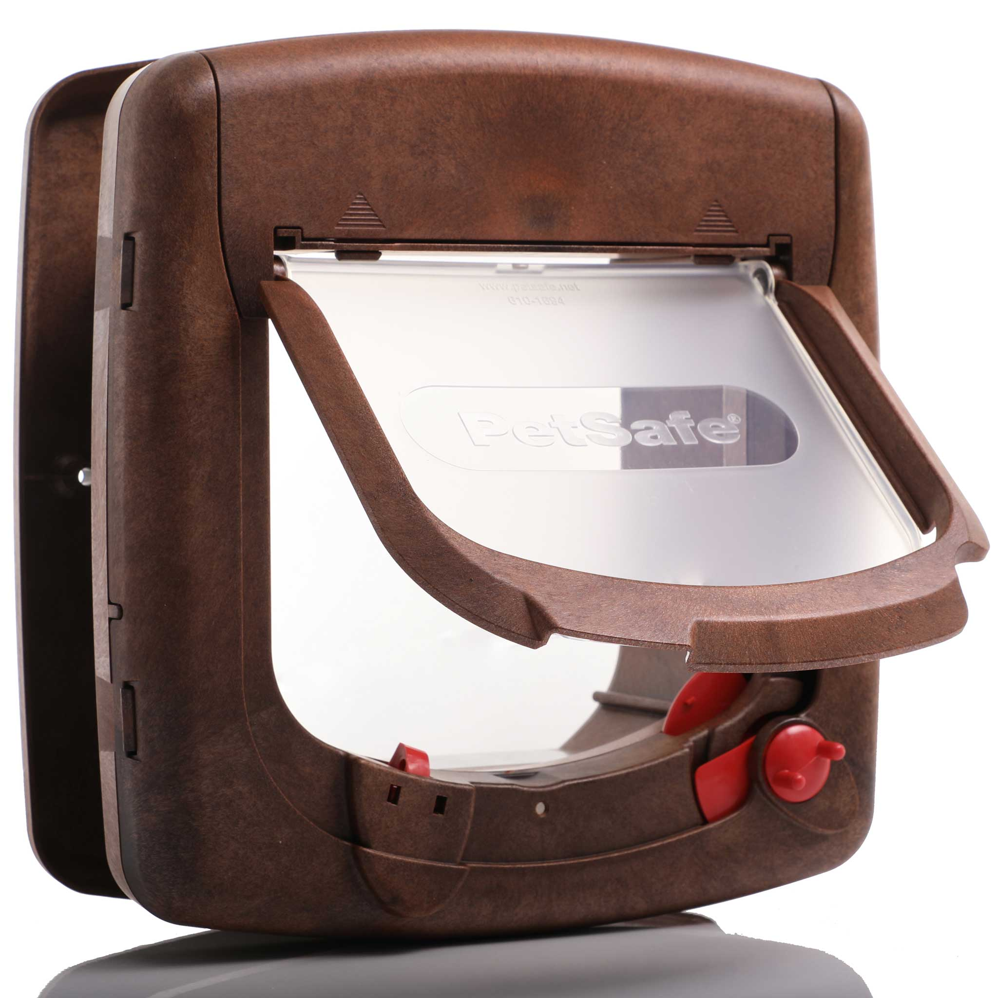 Deluxe magnetic cat flap suitable for doors up tp 50mm thick