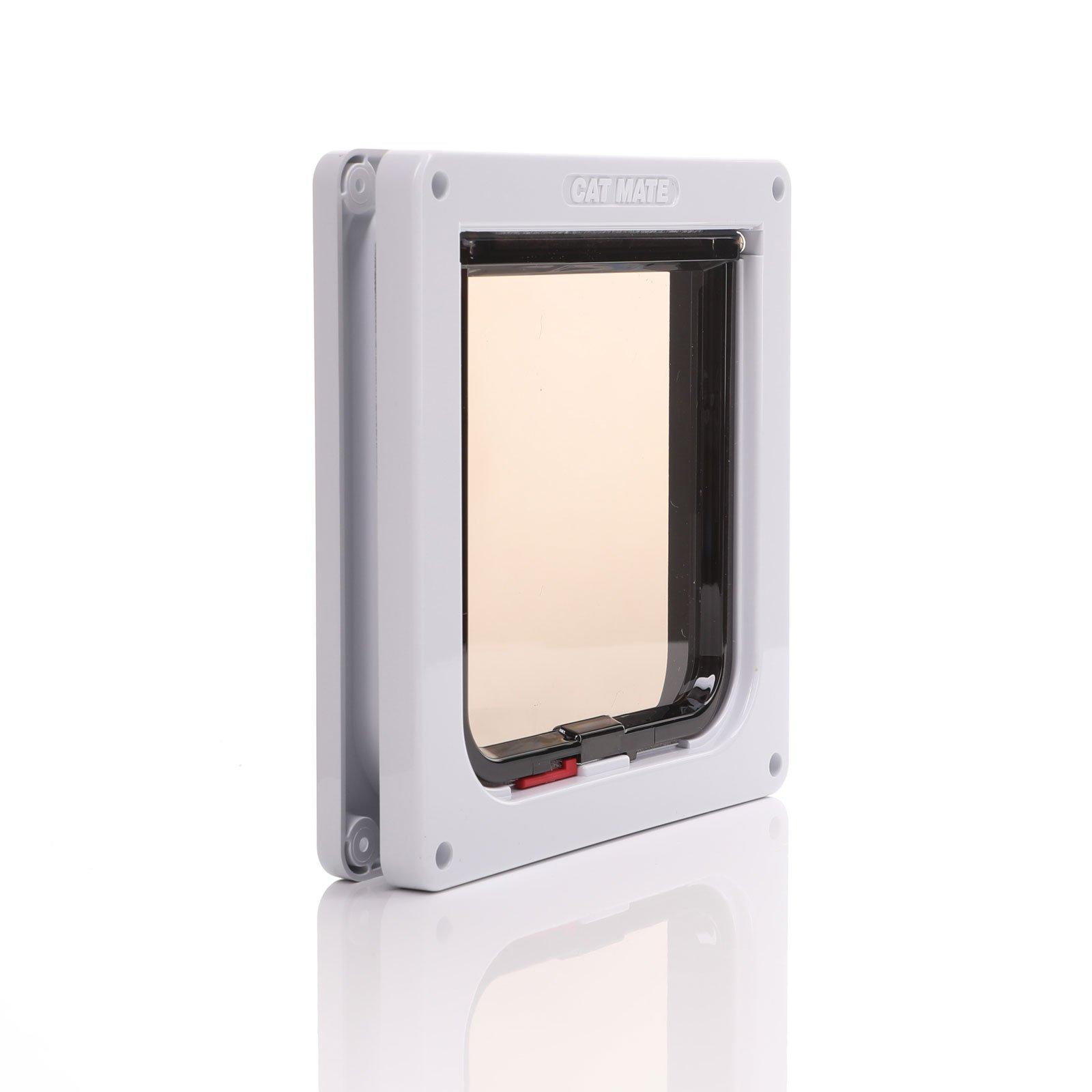 Thin max 12mm panel fitting cat door.
