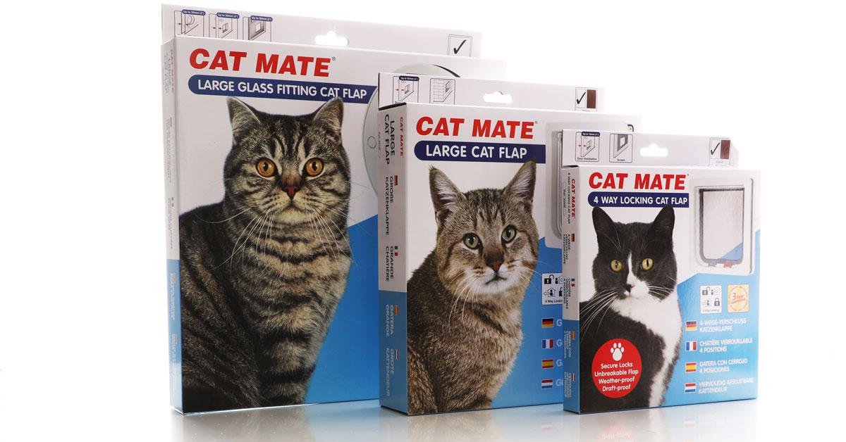 Door range sizes from Cat Mate