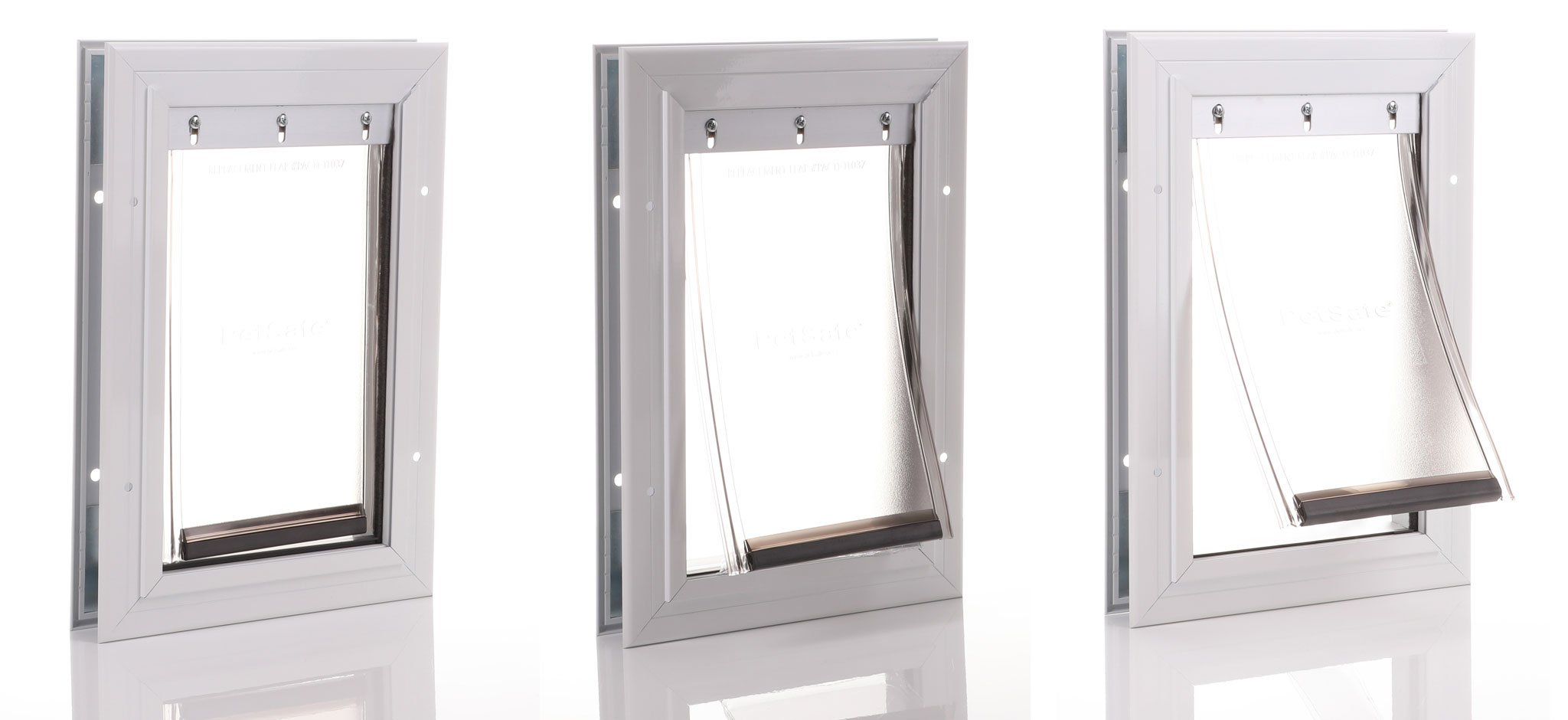 Quality design and materials to create a sturdy dog door.
