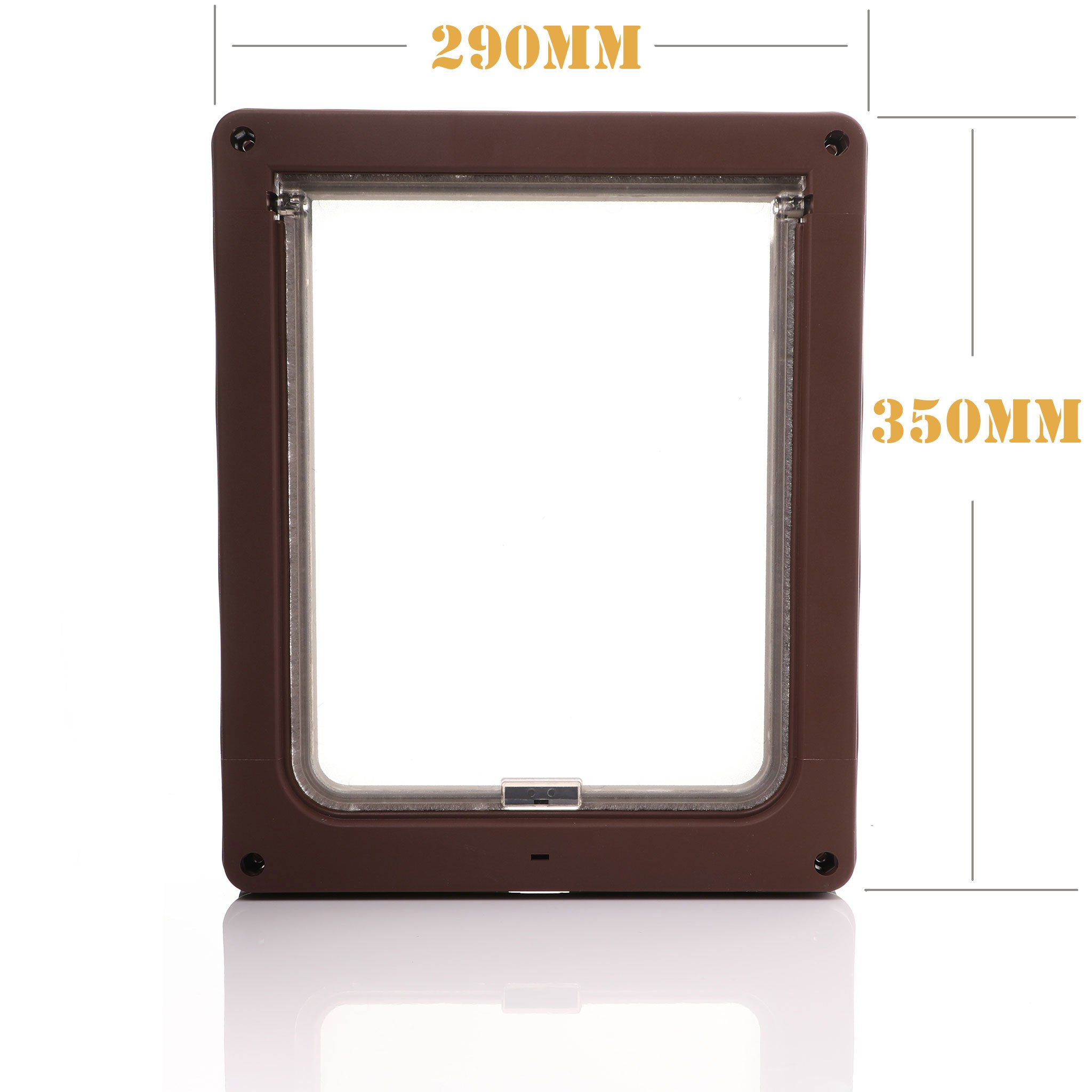 Dog Mate Medium Brown Dog Door   Specification